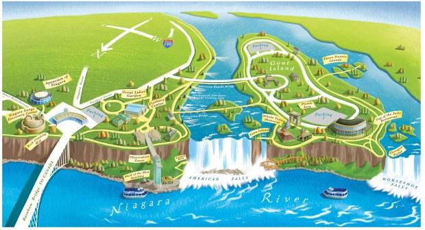 niagarafallsniagarafallsstateparkmap